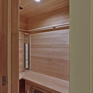 Master Suite Sauna