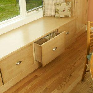 Window Seat Storage Space