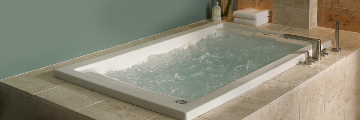 Whirlpool tub. Bucks County Home Remodelers   Bathroom Tub Options   North Wales