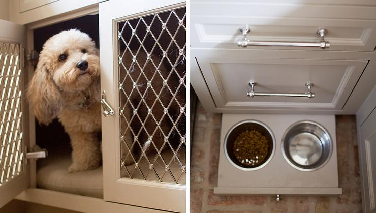 kitchen-built-in-pull-out-dog-food-bowls