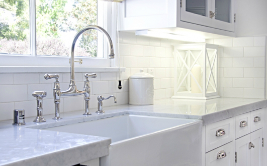 rohl farmhouse sink and faucet