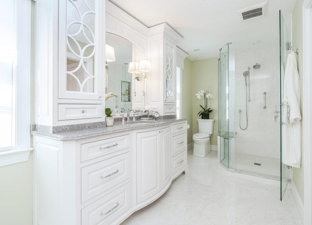 Luxury Bathroom remodel Creative Contracting
