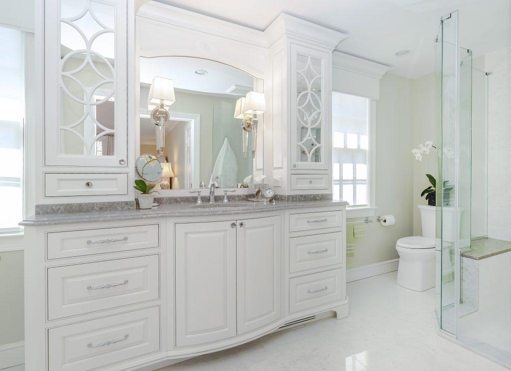 Luxury Bathroom Remodel by Creative Contracting Vanity